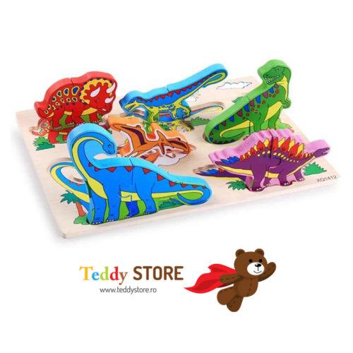 "Puzzle din lemn "" Jurassic World"""