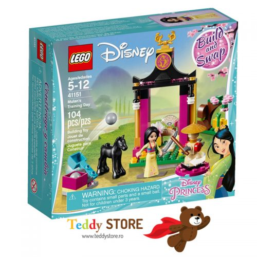 LEGO Disney Princess Antrenamentul lui Mulan 41151